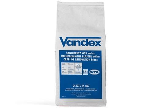 Vandex Refurbishment Plaster White