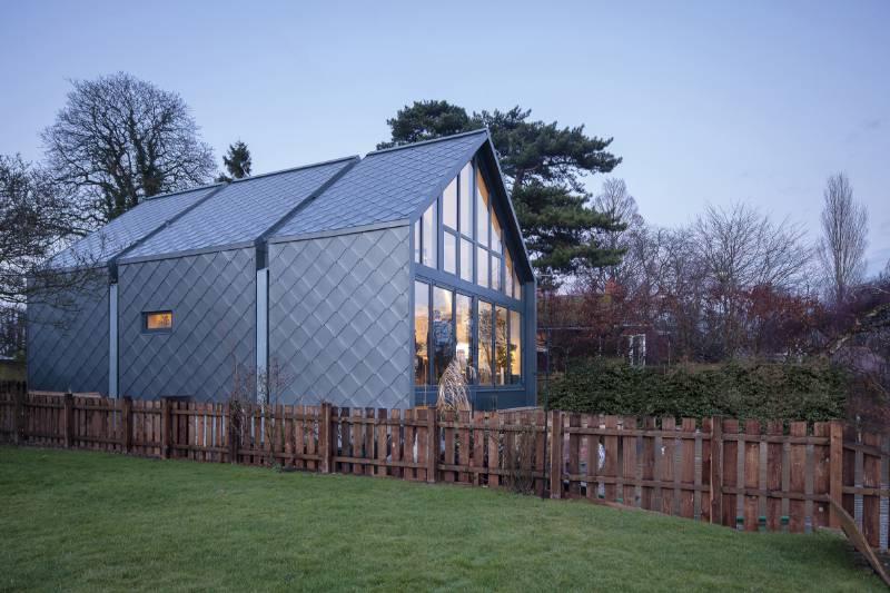 NedZink NOVA Shingles - Amphibious House