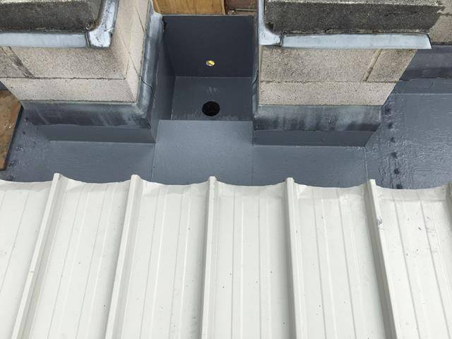 Metal Roof Coating & Liquid Gutter Liner, Oxfordshire