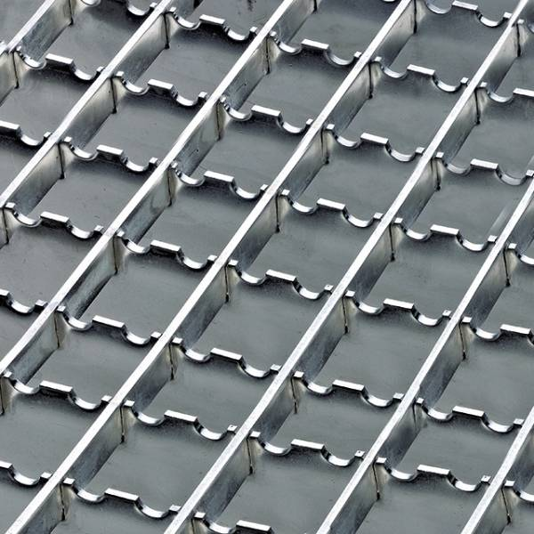 Steel Gratings - Serrated Anti-slip Flooring
