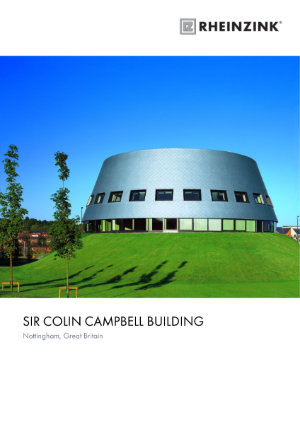 Sir Colin Campbell Building Nottingham University