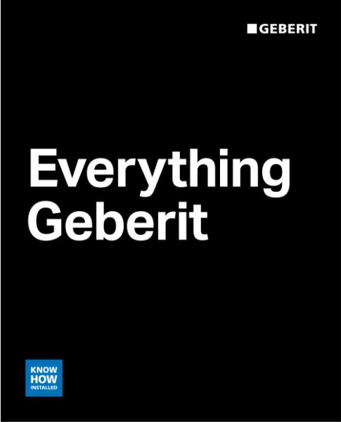 Everything Geberit
