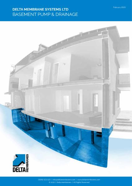 Basement Pump & Drainage Brochure