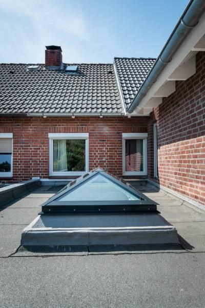 Glass Skylight Pyramid / Hipped