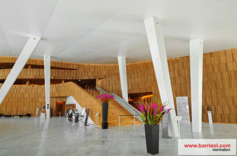 Barrisol Acoustics - Oslo Opera - Norway