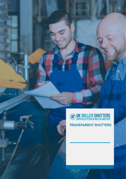 Vision Shutters: Transparent Shutter