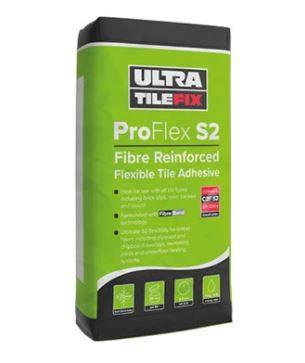 ProFlex S2: Fibre Reinforced Flexible Tile Adhesive