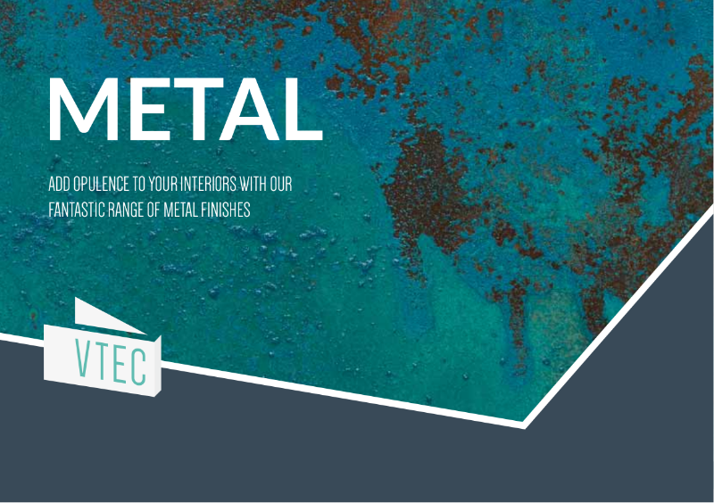Metal Wall Tiles - Bronze, Copper, Brass, Zinc, Steel - Brochure