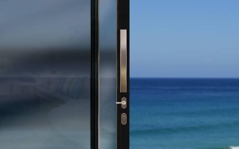 BLU™ - KM853 Straight Slide Handle Kit Inline Rectangular 'T' Bar