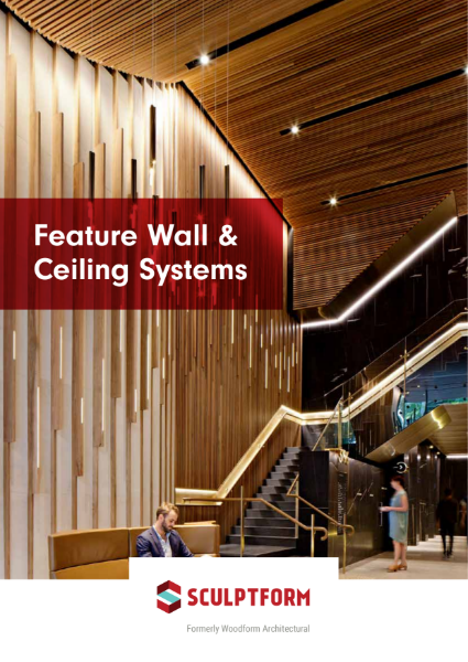 Sculptform - Feature Wall & Ceiling Systems