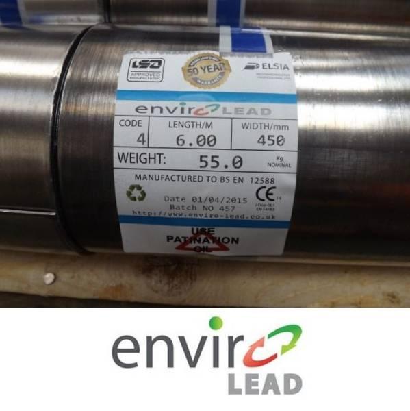 Rolled Lead Sheet (Envirolead)