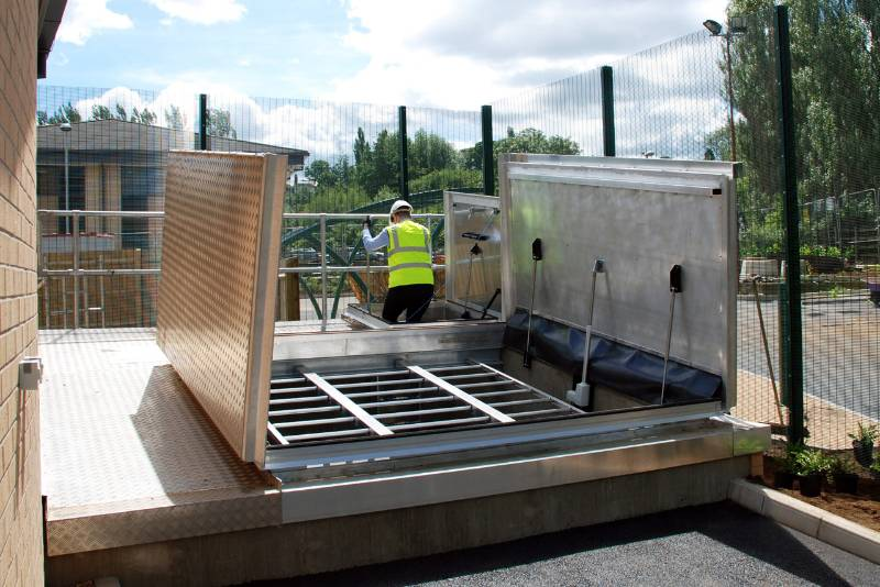 Biomass Access Cover - National Justice Centre