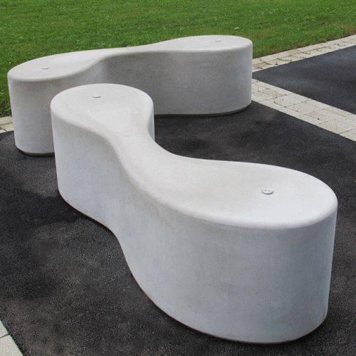 Marlborough Concrete Bench