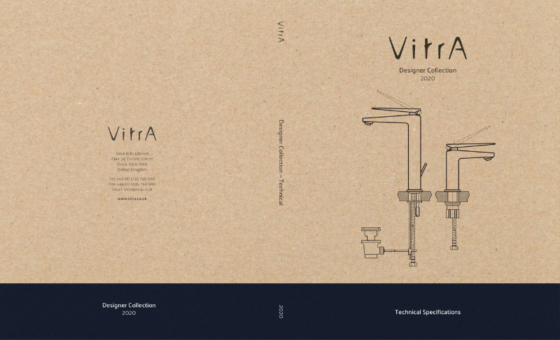 VitrA's Designer Collection - Technical Specifications
