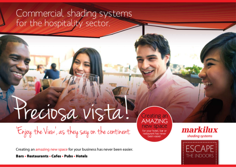 Markilux Commercial Awnings Brochure