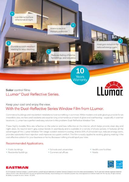 LLumar Dual Reflective Window films