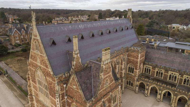 Welsh Slate tops the menu at Clifton College