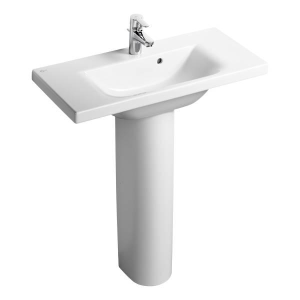 Concept Space 80 cm Washbasin, double platform