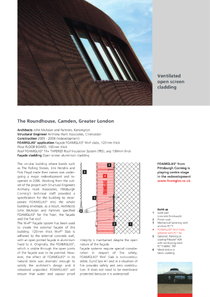 Ventilated Open Screen Cladding Façade - Case Study