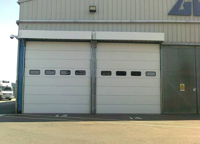 Insulated Overhead Sectional Doors