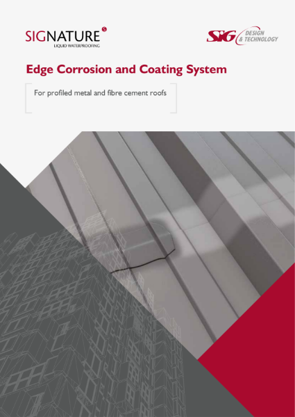 SIGnature Liquid Waterproofing Edge Corrosion and Coating System