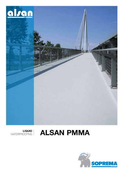 ALSAN PMMA Liquid Applied Waterproofing Systems