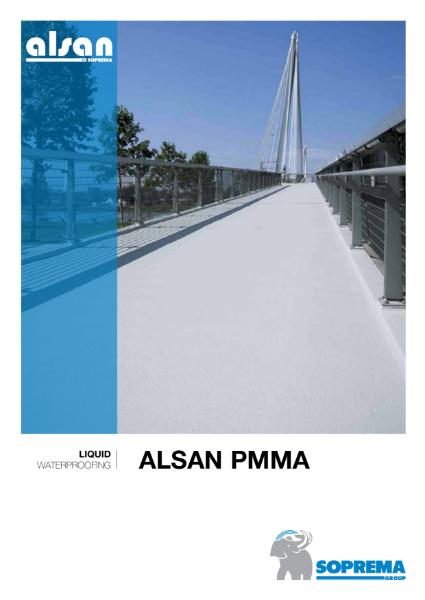 ALSAN PMMA Liquid Applied Waterproofing Systems