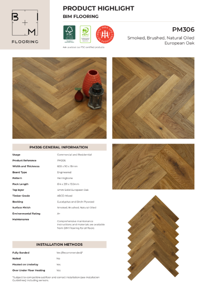 Product Highlight - Herringbone PM306