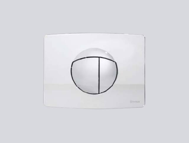 TRF0427S Multikwik Flush Plate - Solar (Chrome Finish)