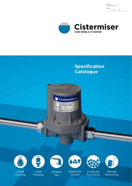 Cistermiser Specification Catalogue