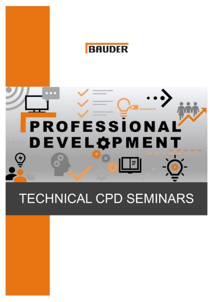 CPD Seminars - Bauder