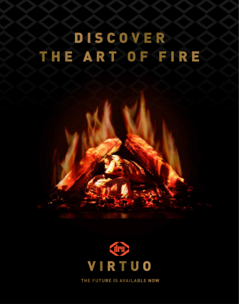 DRU Virtue electric fires brochure 2020/21