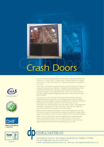 Flexible Leaf Swing/Crash Doors