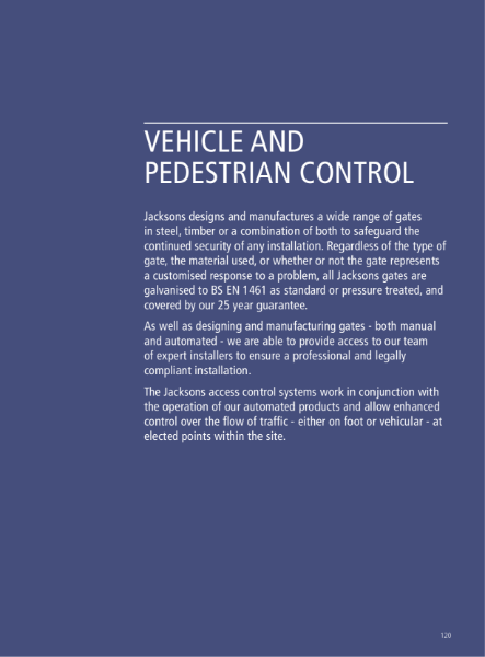 Vehicle and Pedestrian Control