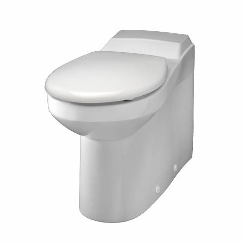 Avalon: Rimfree Back to Wall Seat & Cover -WC suites