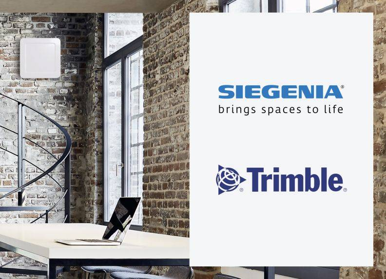 SIEGENIA vents now available in Trimble Nova software