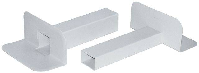 PVC Corner Fittings - square spigot