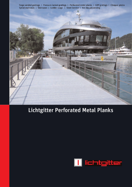 Lichtgitter Perforated Steel Plank Manual