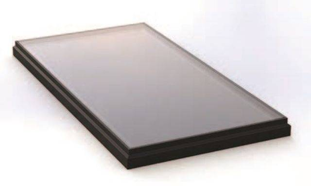 RG-80-20 Fixed Flat Glass Walk On Single Pane Rooflight