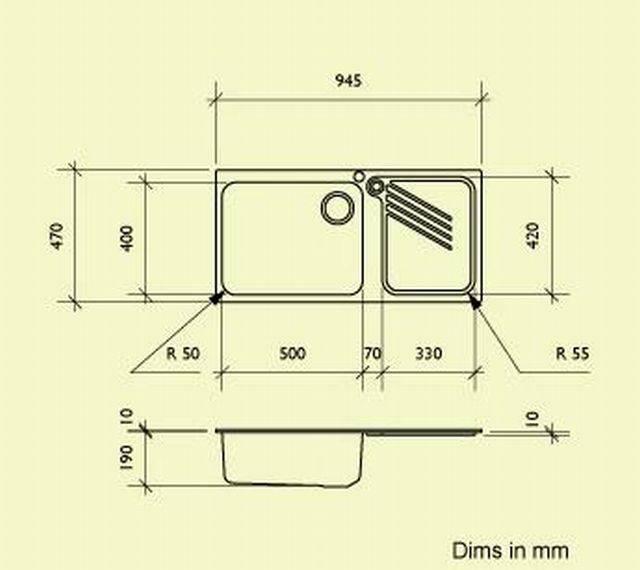 Sink Bowl IS11R