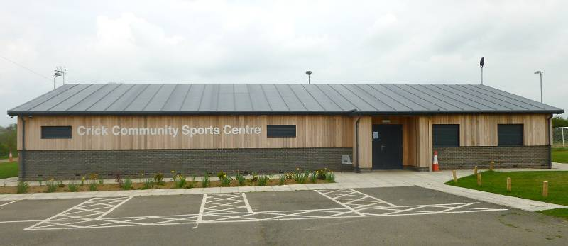 Team Effort Enabled Sports Centre to be Completed In Time for Kick Off