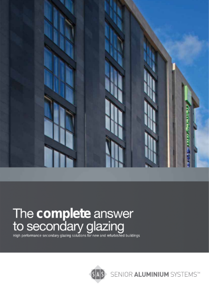 SAS Secondary Glazing Brochure
