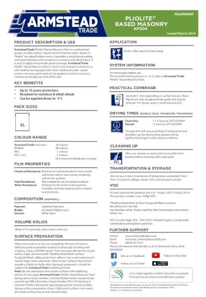 AM304_Pliolite Based Masonry