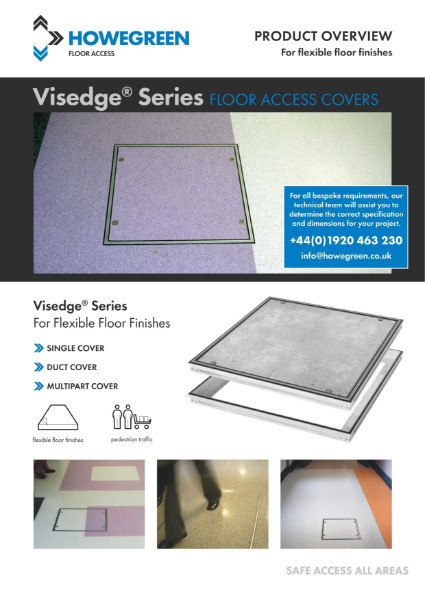 Visedge Series Flexible Floor Access Cover Product Overview