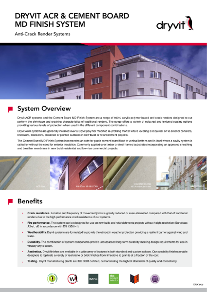 05. ACR & Cement Board MD Finish System
