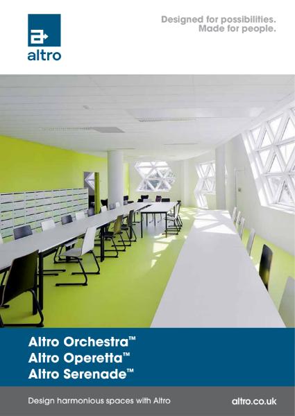 Altro Orchestra, Operetta, Serenade Product Brochure