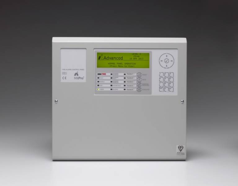 MxPro 4 Fire Alarm Control Panel 1 Loop