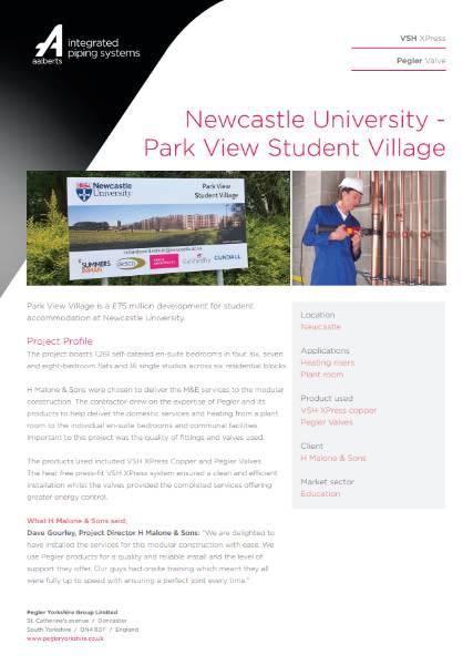 Introducing Newcastle University - Park View Student Village