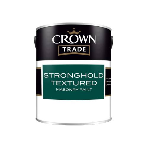 Crown Trade Stronghold Textured Masonry Paint