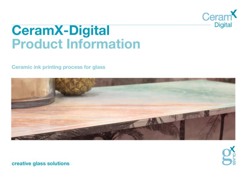 Ceramx-Digital Ceramic Printed Glass